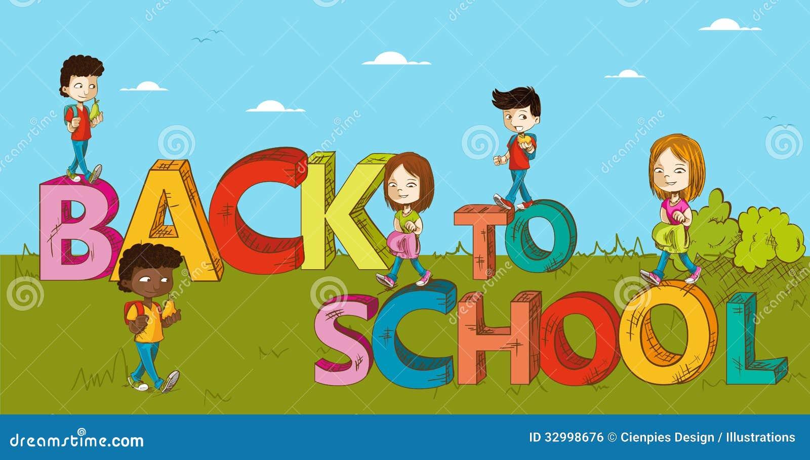 education back to school kids cartoon - Kids Cartoons Free