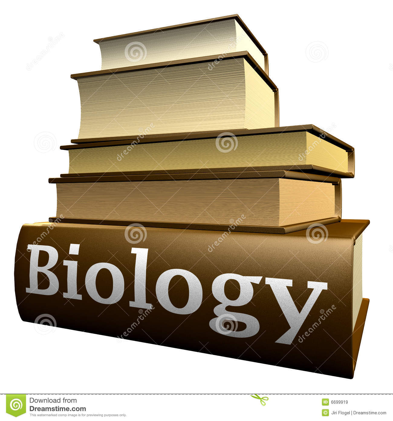 Education Books Biology Royalty Free Stock Images