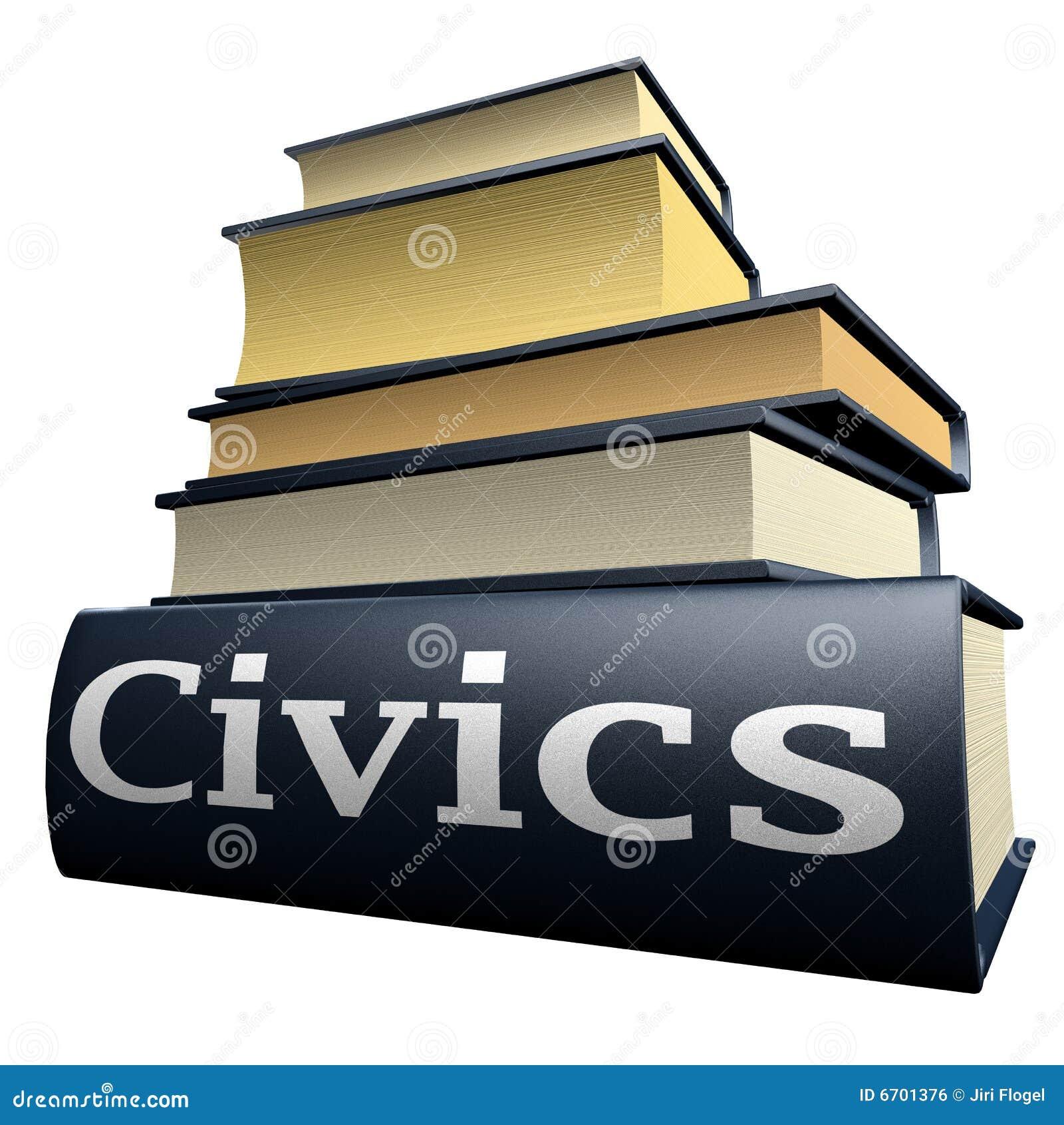 education books   civics royalty free stock image   image