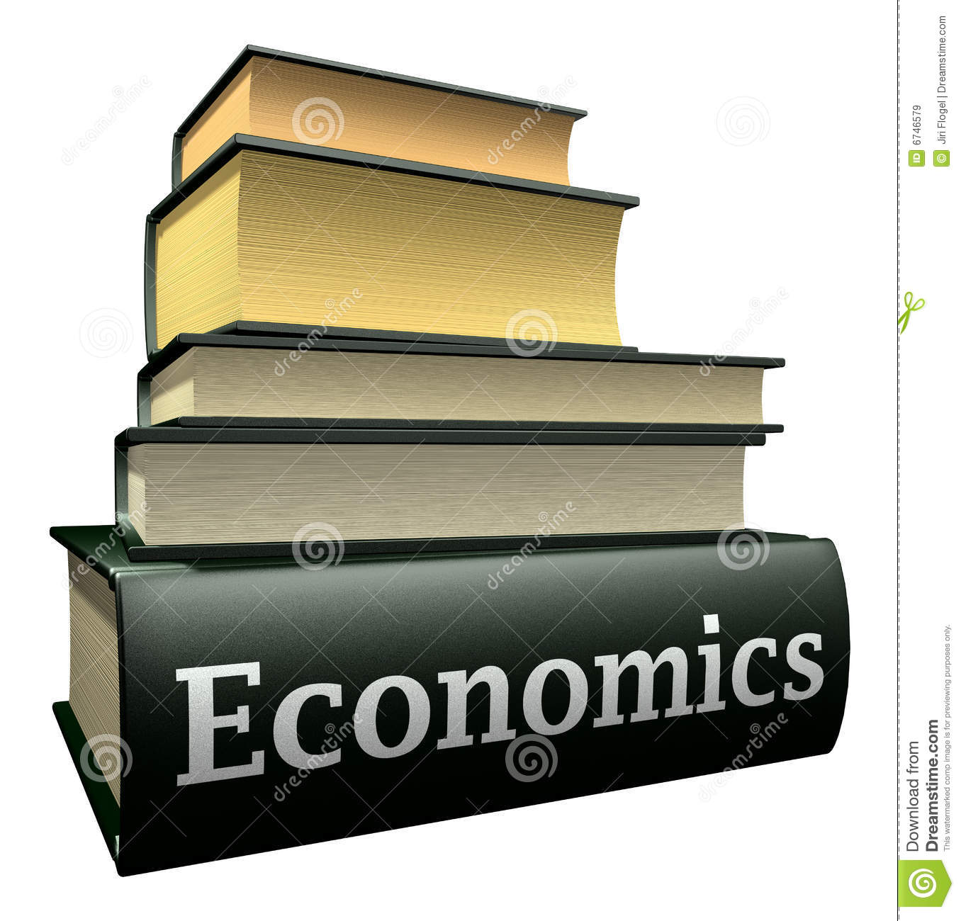 Education Books - Economics Royalty Free Stock Images - Image: 6746579