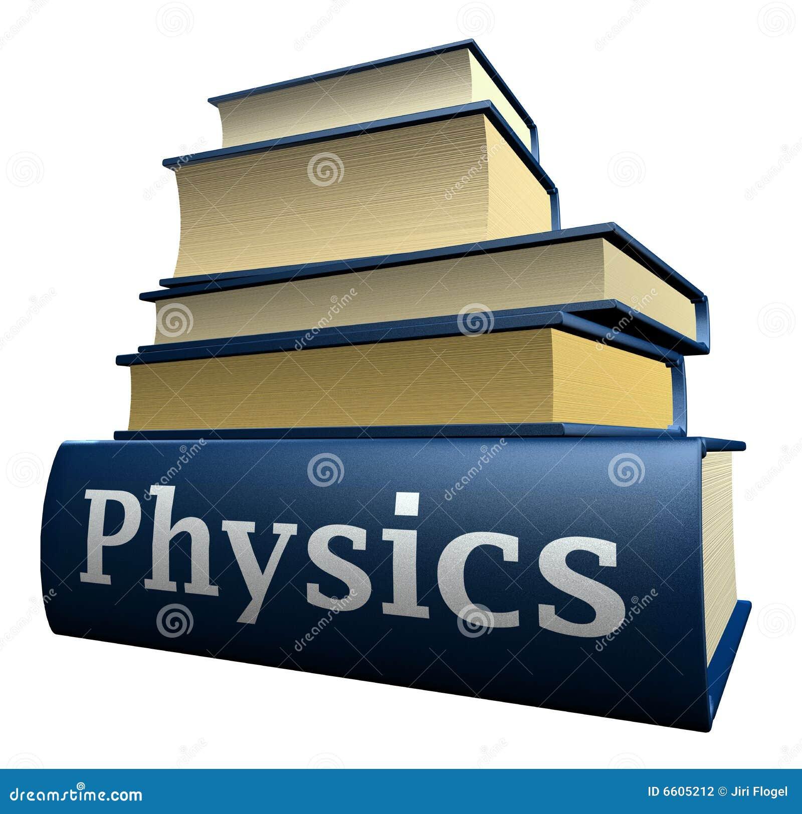 Education Books - Physics Stock Photography - Image: 6605212