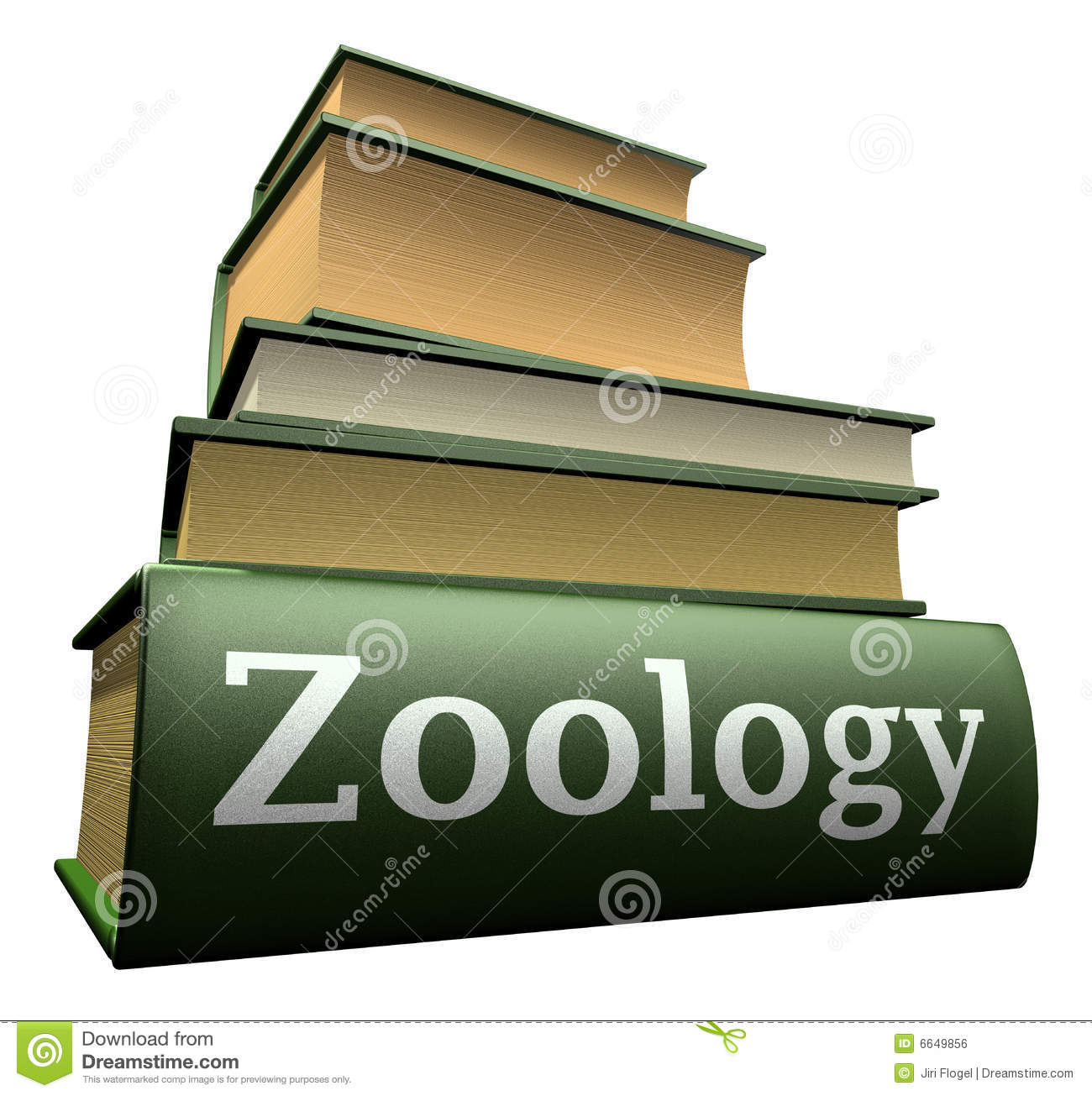 Education Books - Zoology Royalty Free Stock Image - Image ...