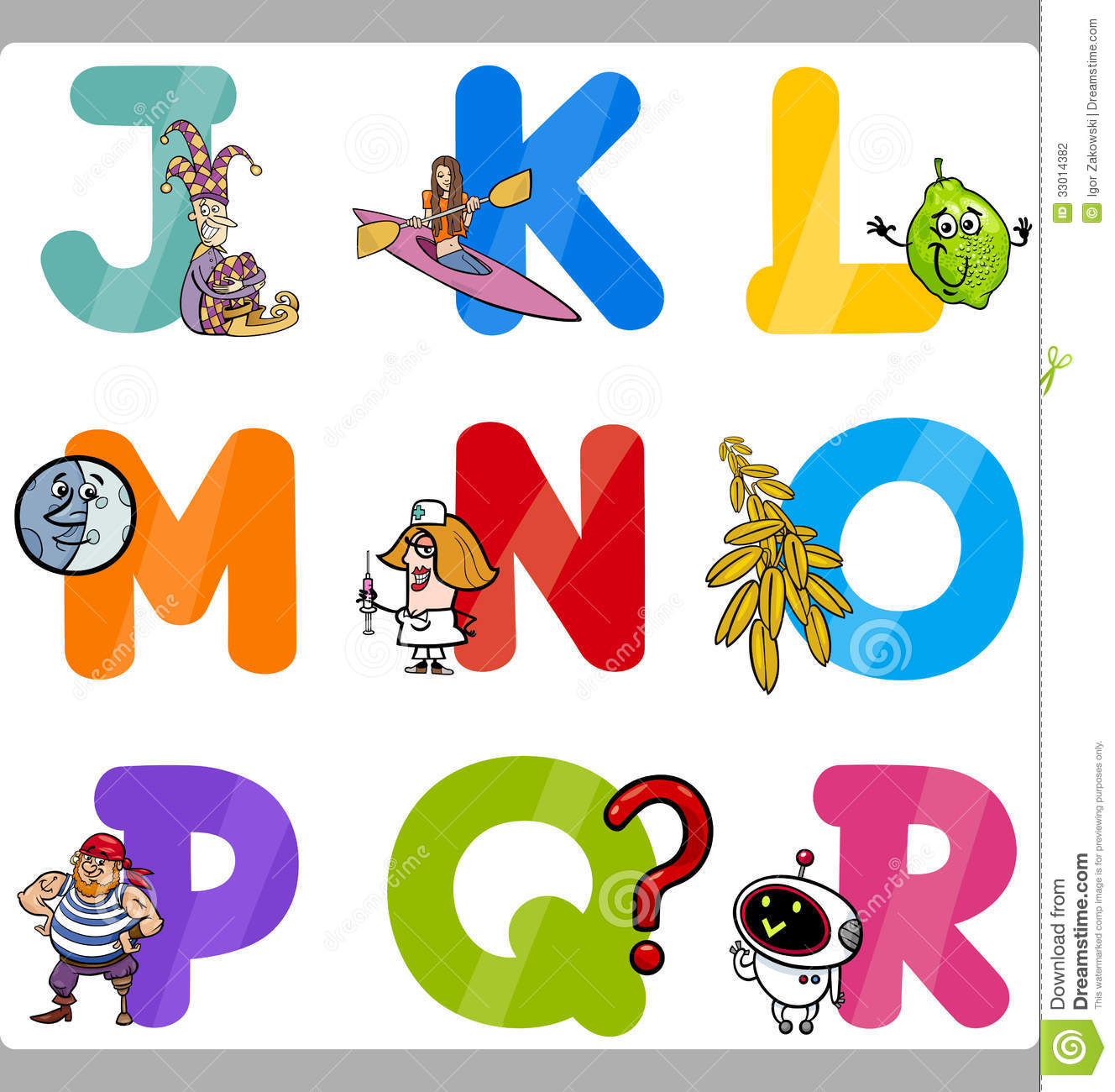 education cartoon alphabet letters for kids - Alphabet Pictures For Kids