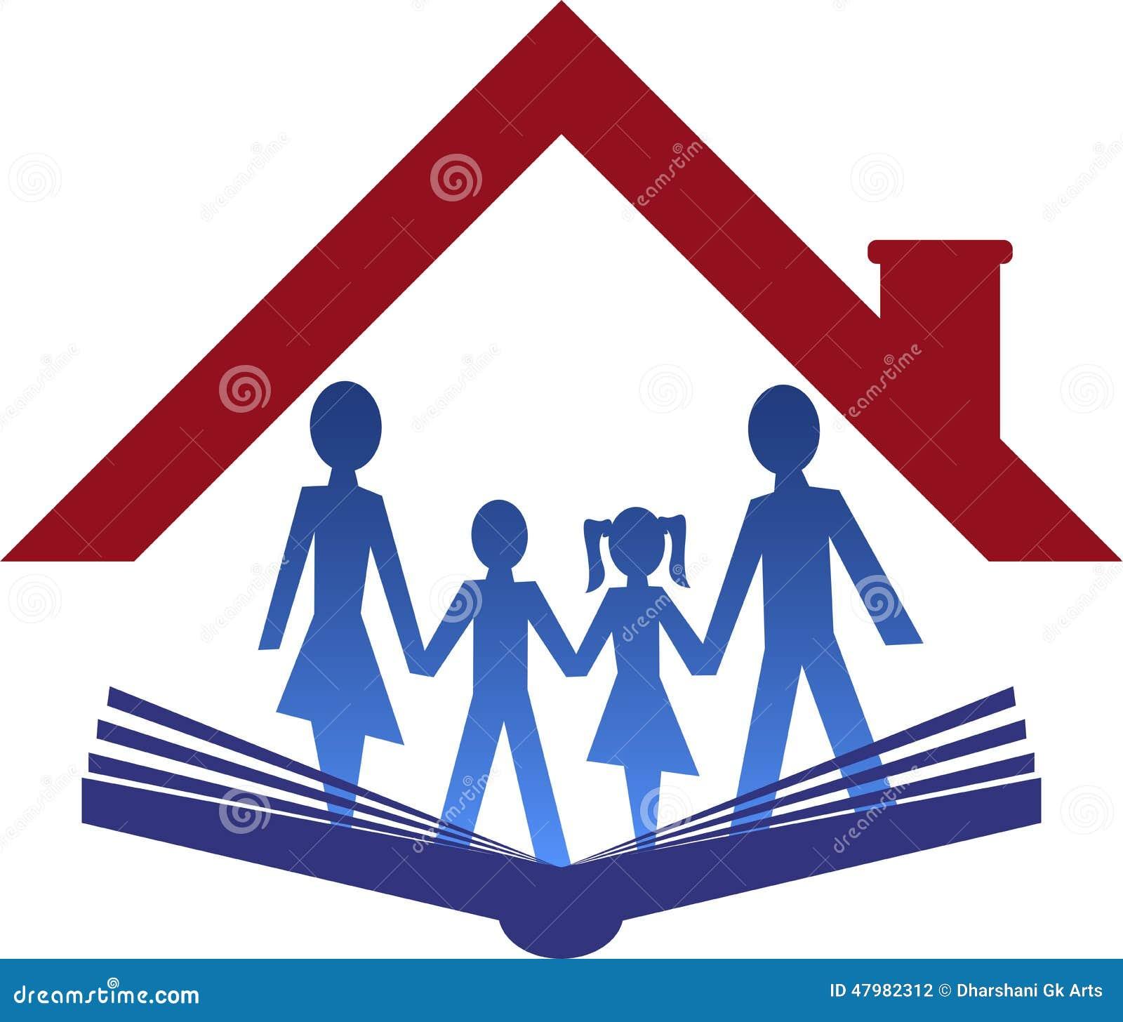 Education Family Logo Stock Vector Image 47982312