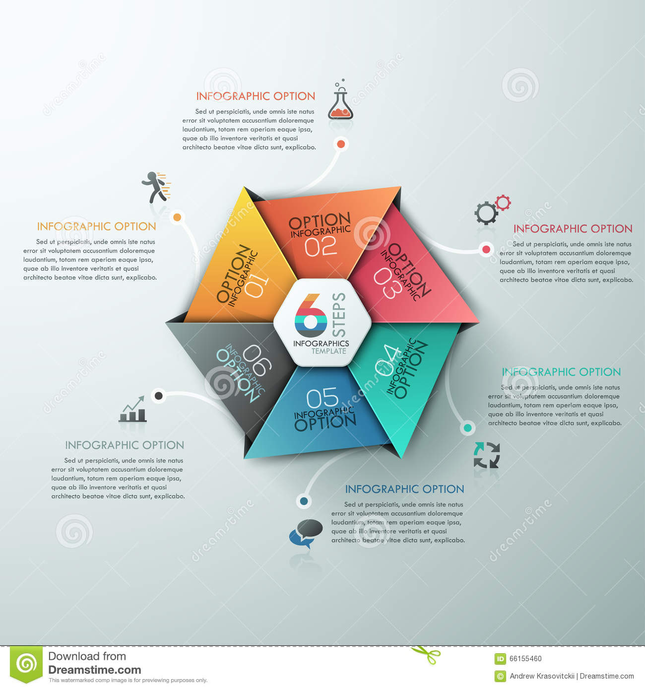 Education And Graduation Infographic With Hexagon Diagram Design ...