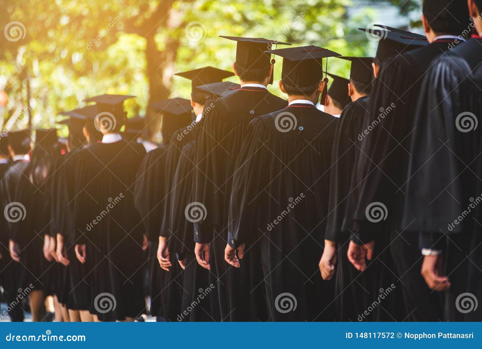 Education graduation in university theme concept.