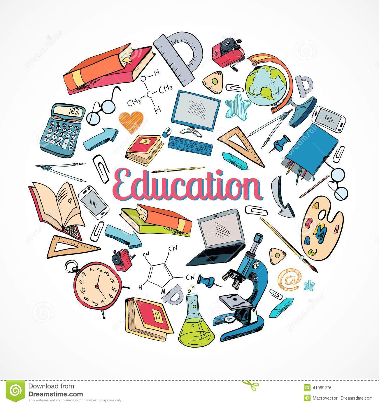 Education Icon Doodle Stock Vector Image 41089276