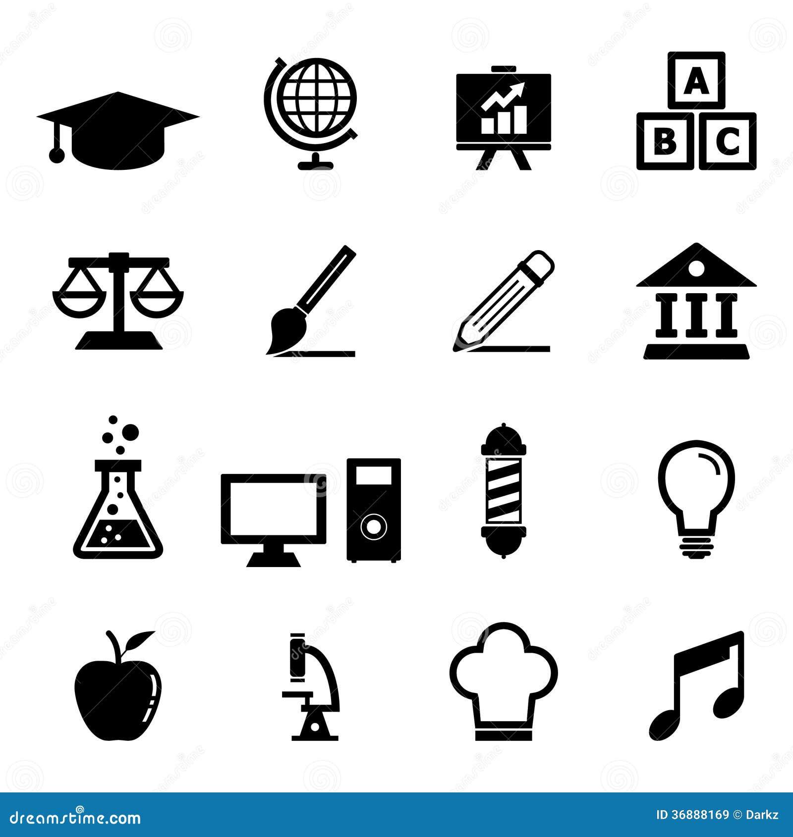 Education Icon Royalty Free Stock Image
