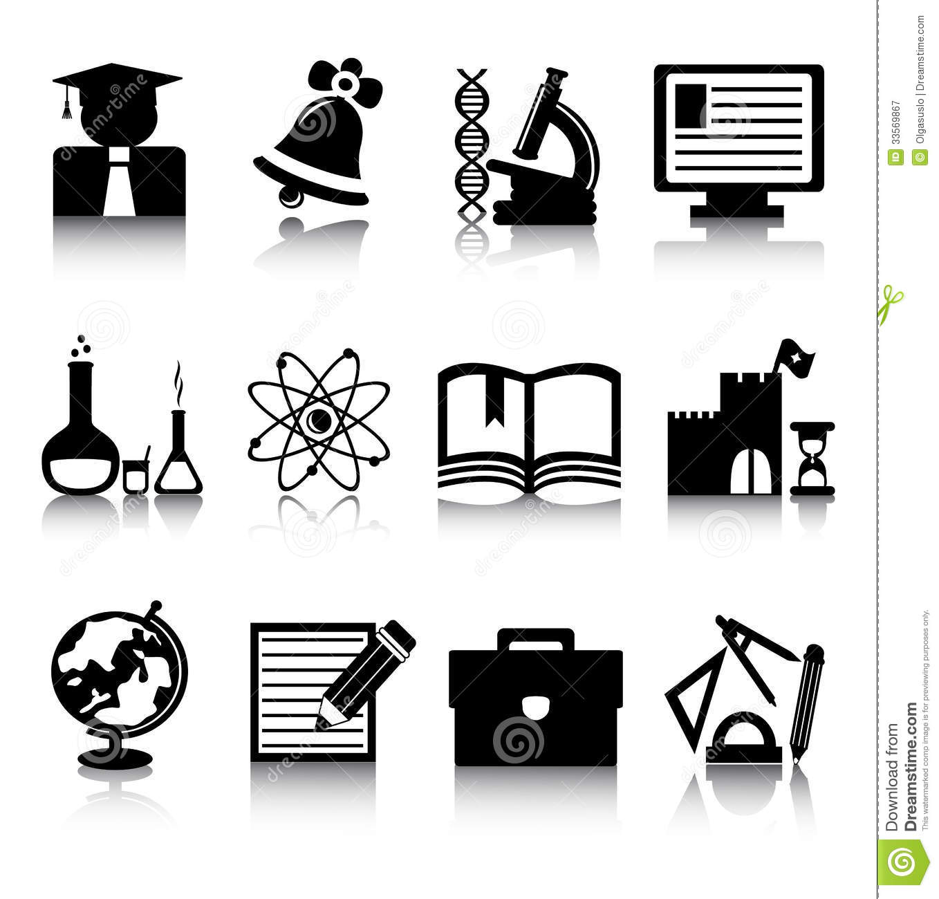 free education clipart black and white - photo #8