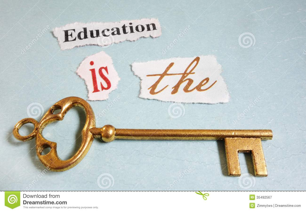 education is the key royalty stock images image  education key royalty stock photography