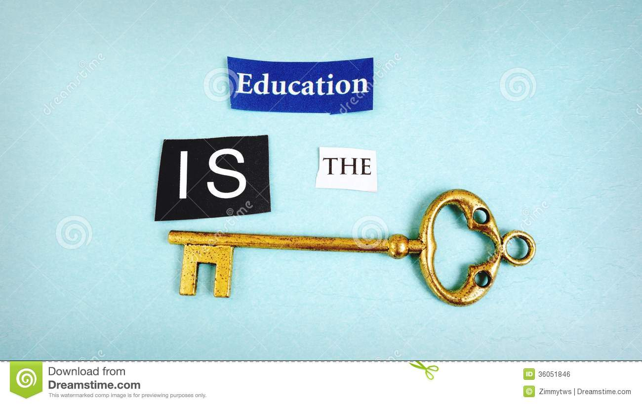 education key stock photo image of phrase opportunity  royalty stock photo education key