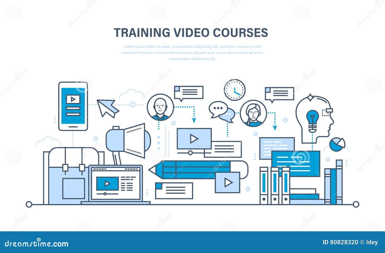 Online coursework video