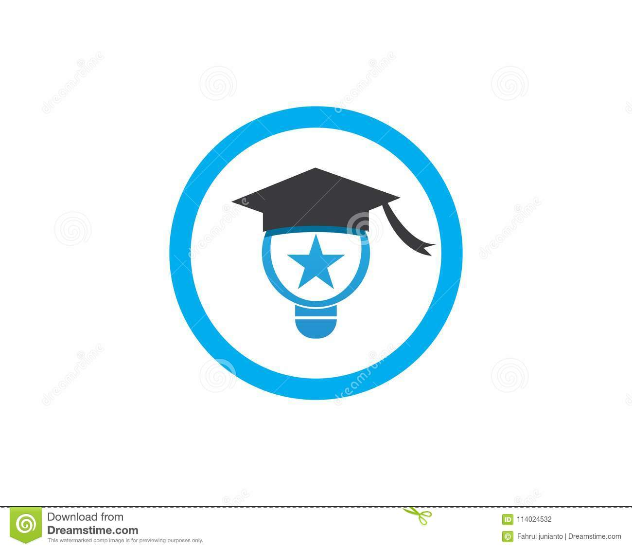 Education Logo Template vector illustration design