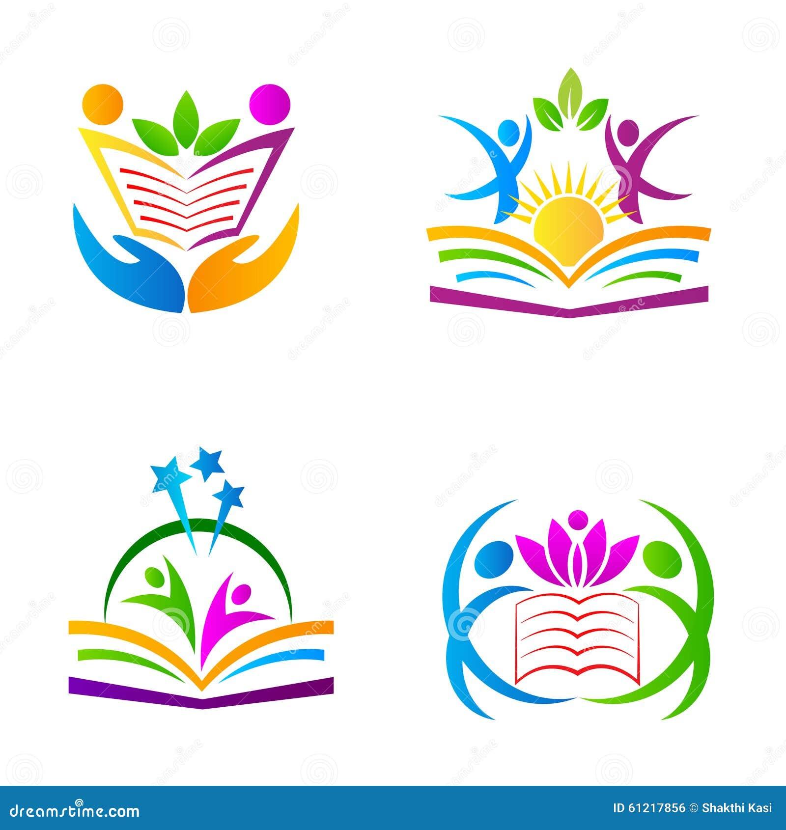 education logos stock vector illustration of diploma 61217856