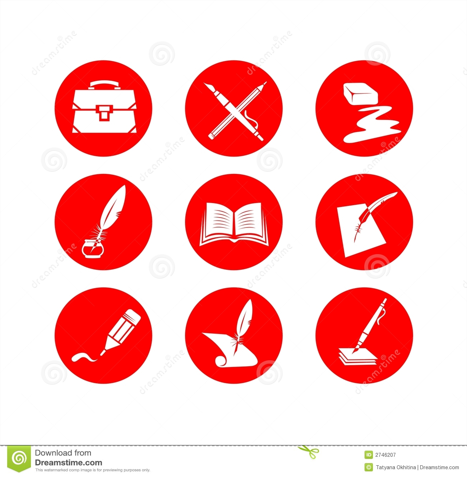 Education Symbols Illustration 2746207 Megapixl