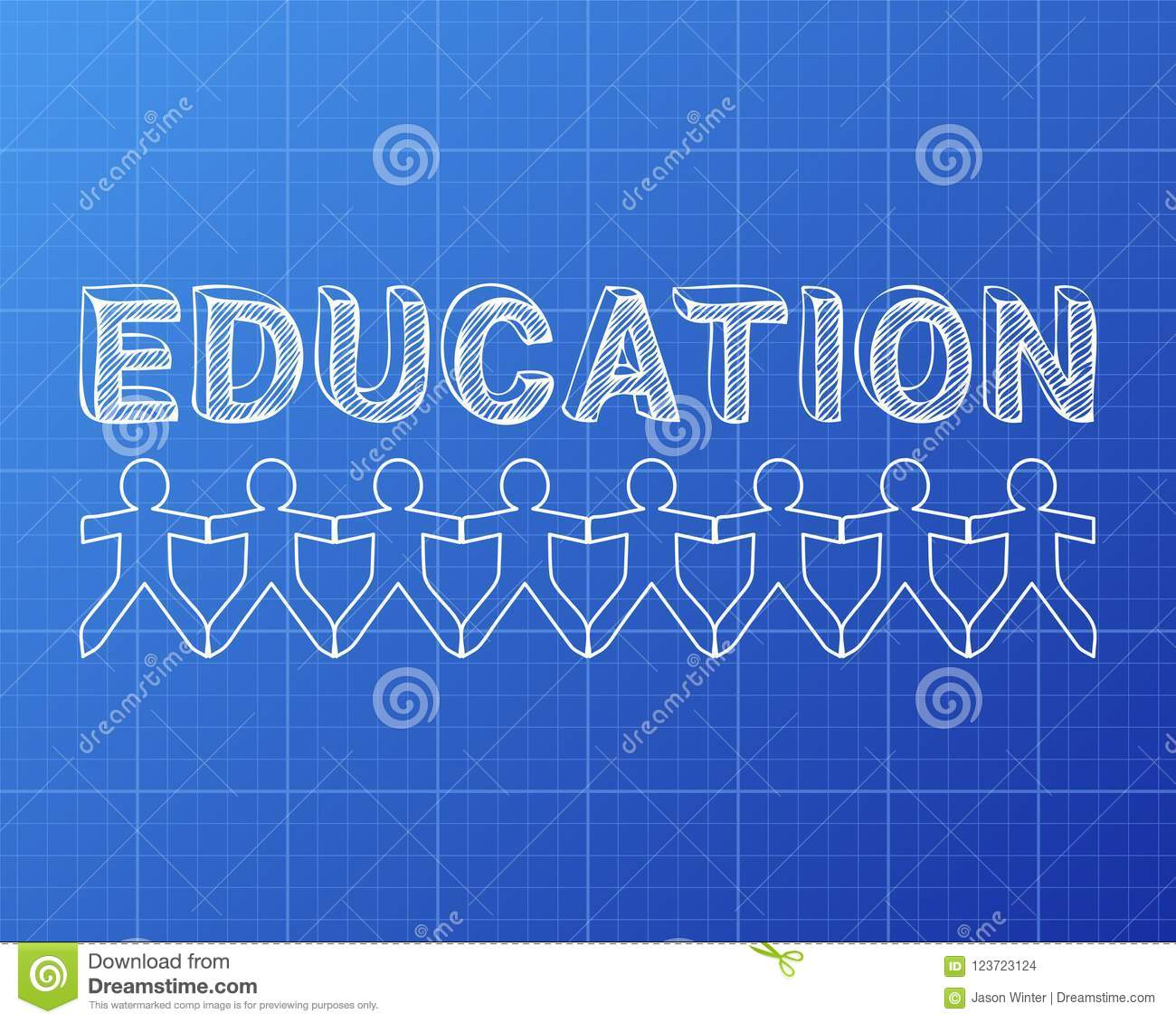 Education people blueprint stock vector illustration of word download education people blueprint stock vector illustration of word 123723124 malvernweather Gallery