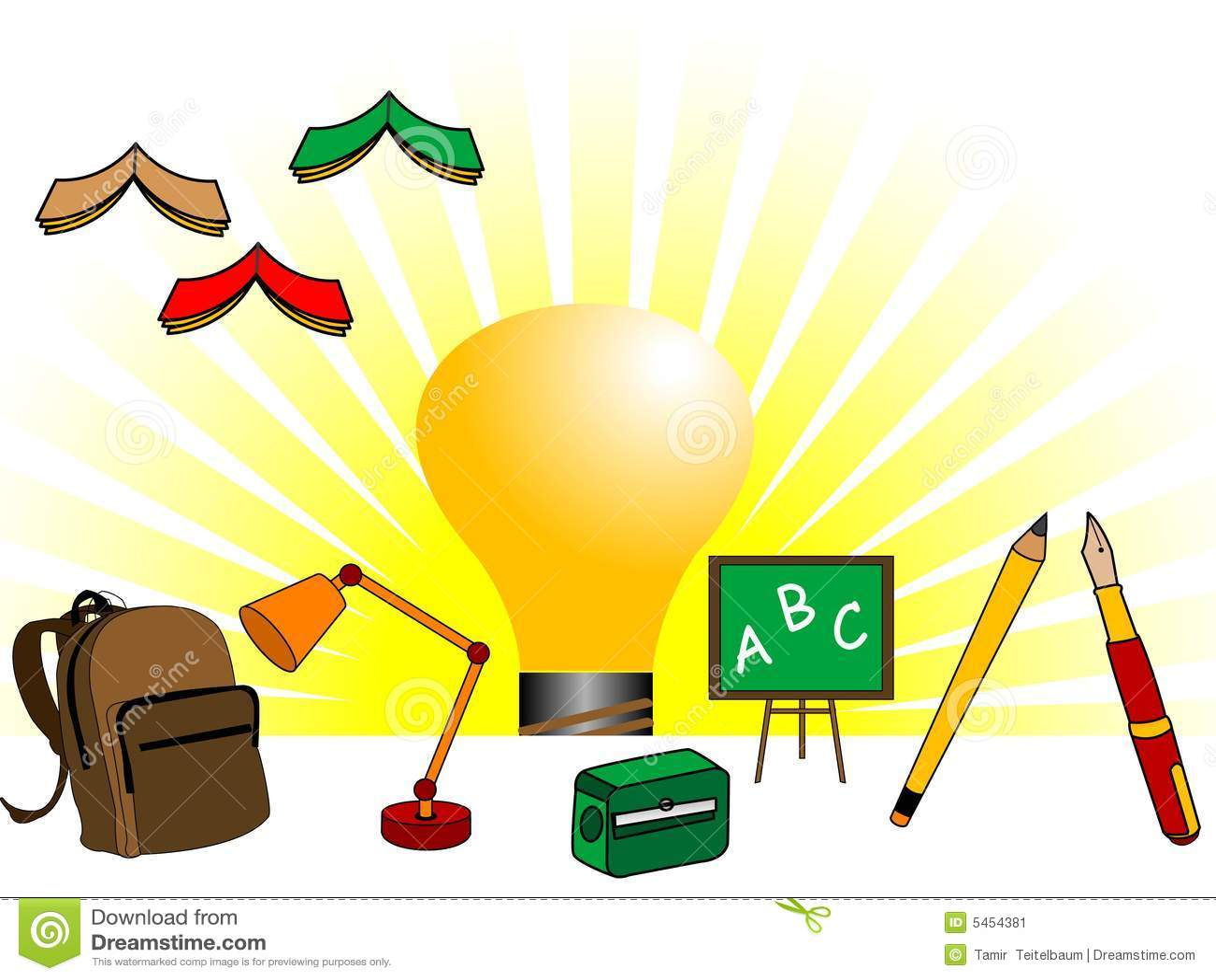 educational things stock image image 5454381 clipart of teacher stuff clip art of teacher