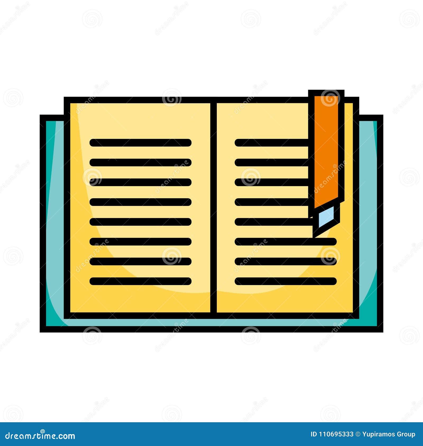 Edukaci książki przedmiot uczyć się i studiować