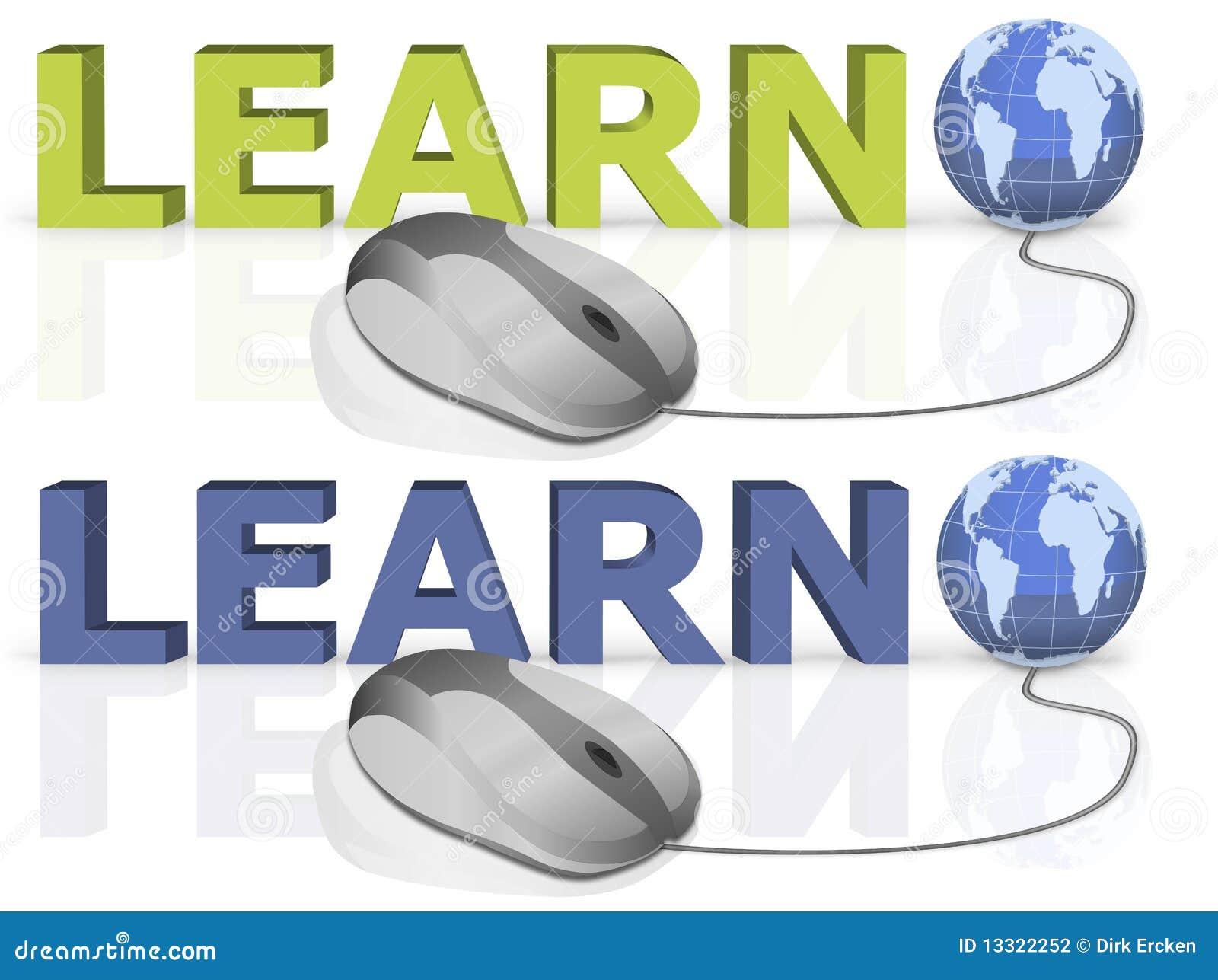 Edukacja internety uczą się uczenie linię
