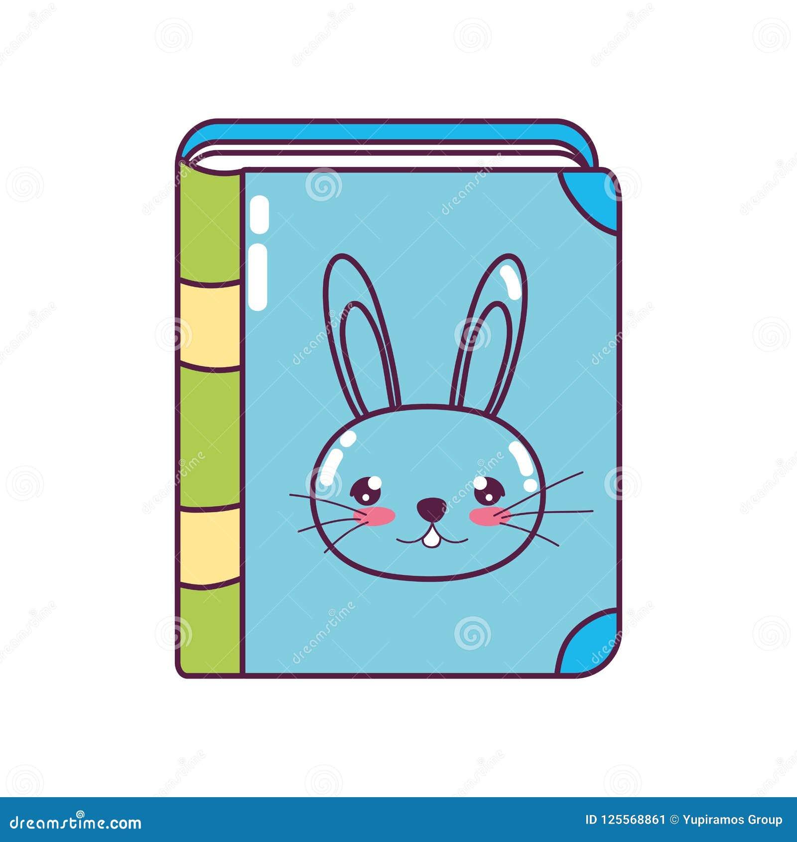 Edukacja królika książki przedmiota styl