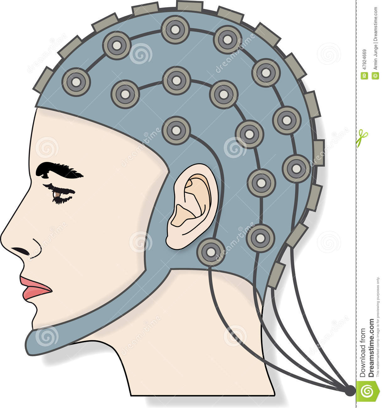 eeg 3 stock illustration illustration of neuroscience free medical clipart images free medical clipart downloads