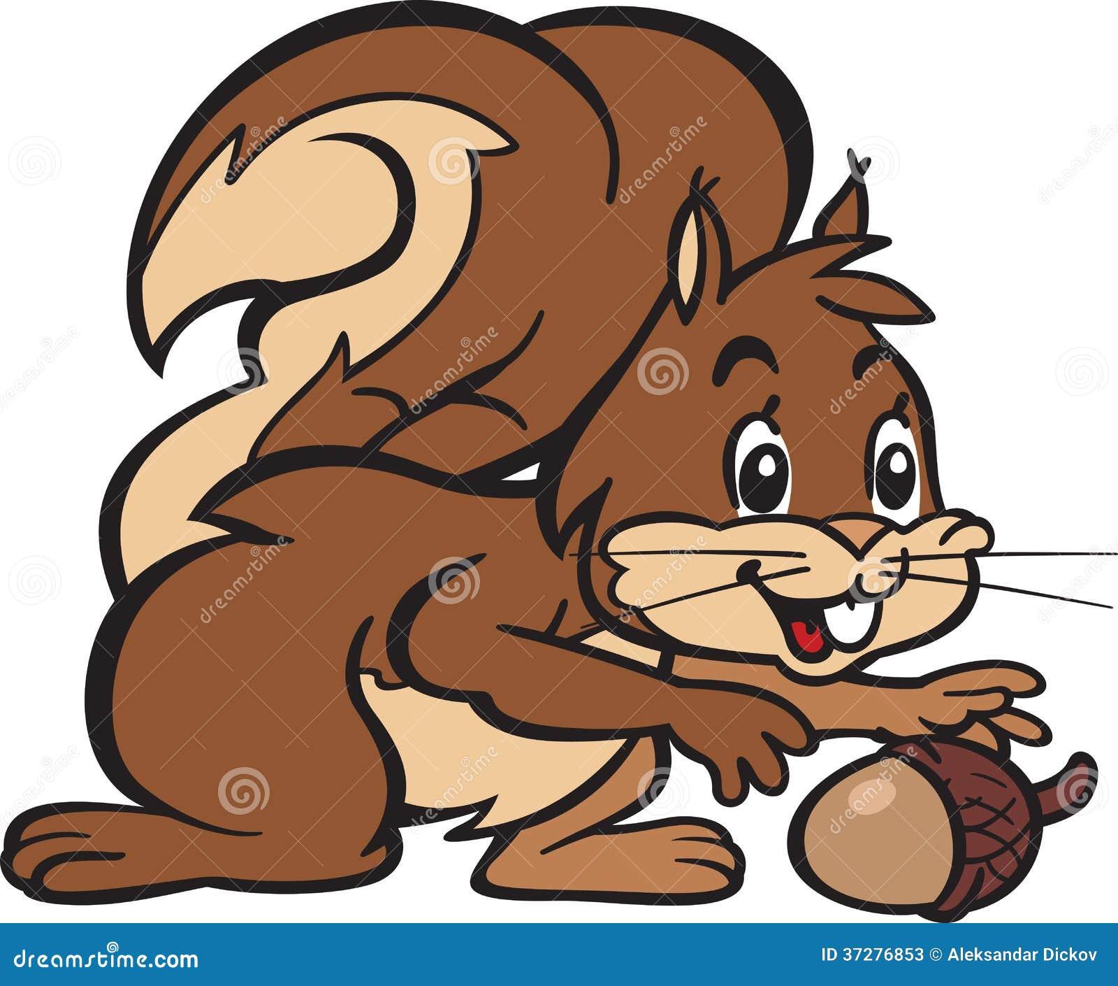 Eekhoorn en Eiken Noot
