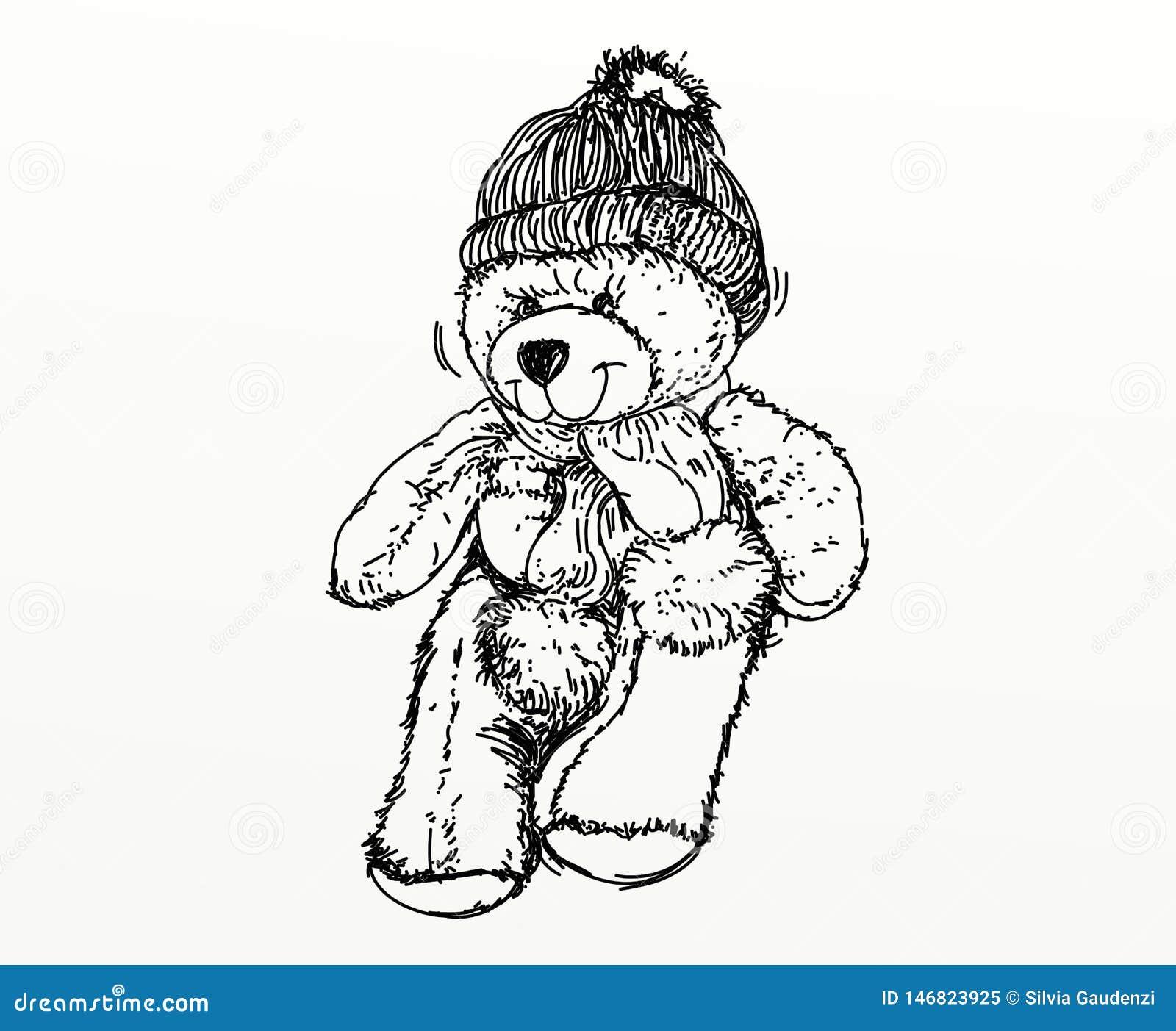 Een beer met een GLB