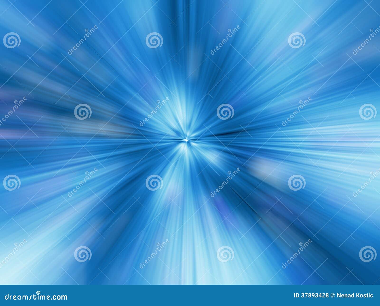 Een Blauw kleurenontwerp met een uitbarsting