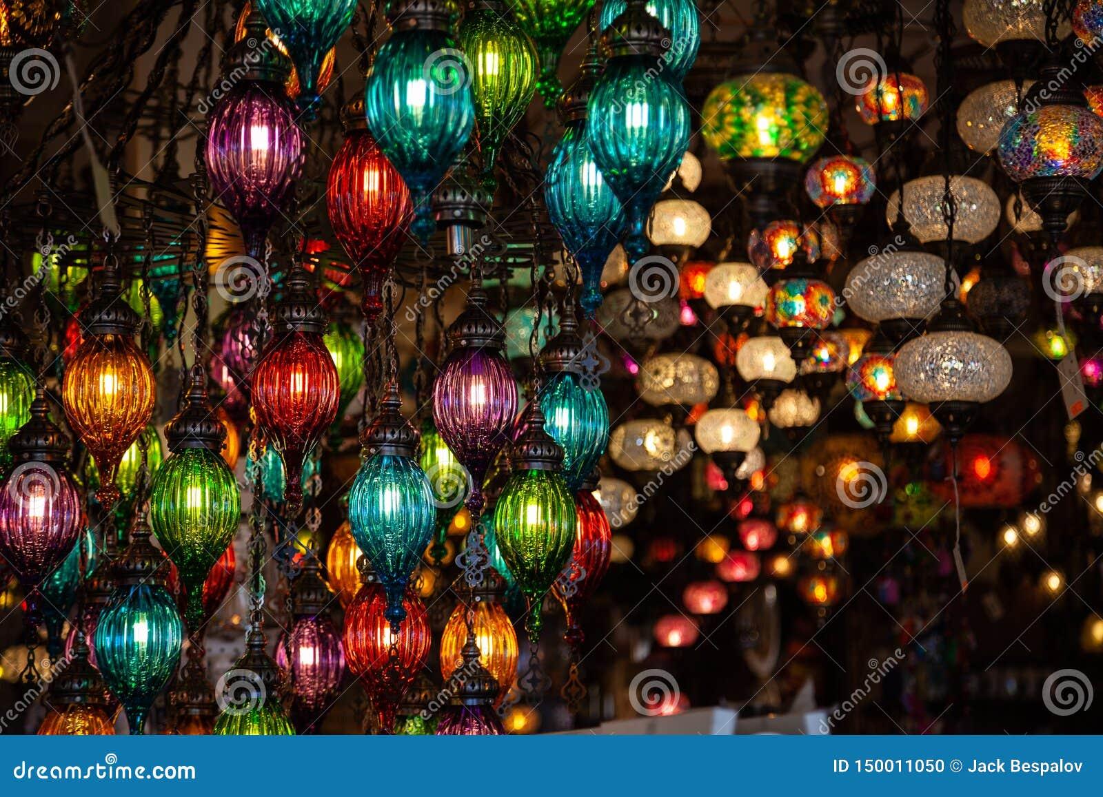 Een bos van Turkse lampen