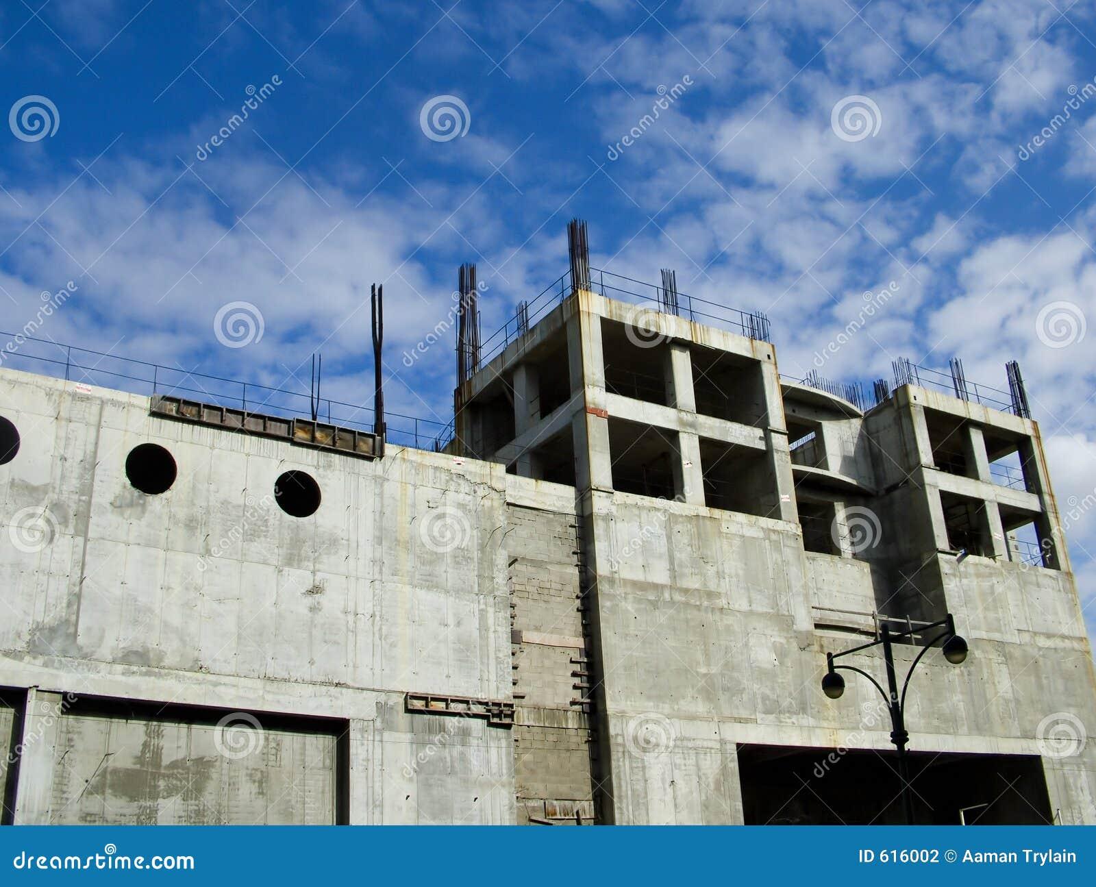 Een bouwterrein