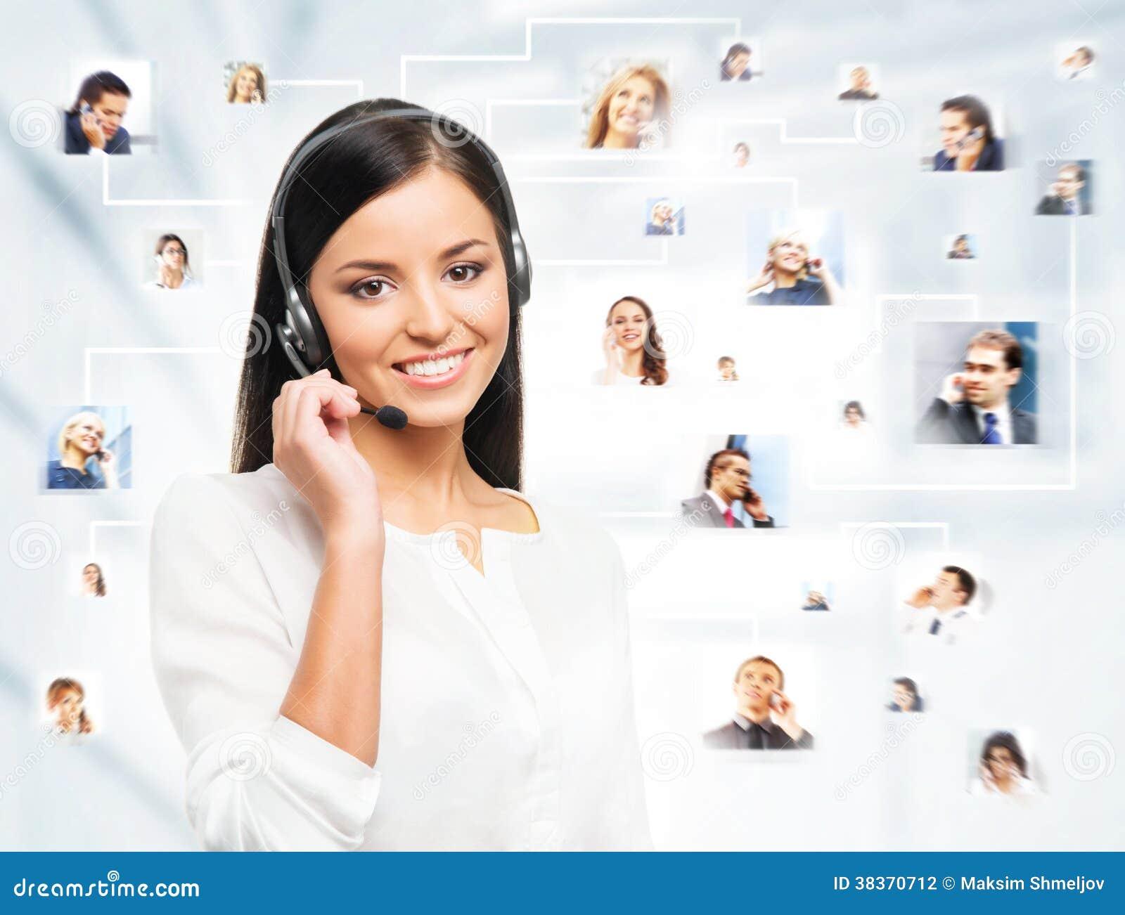 Een collage van jonge bedrijfsmensen
