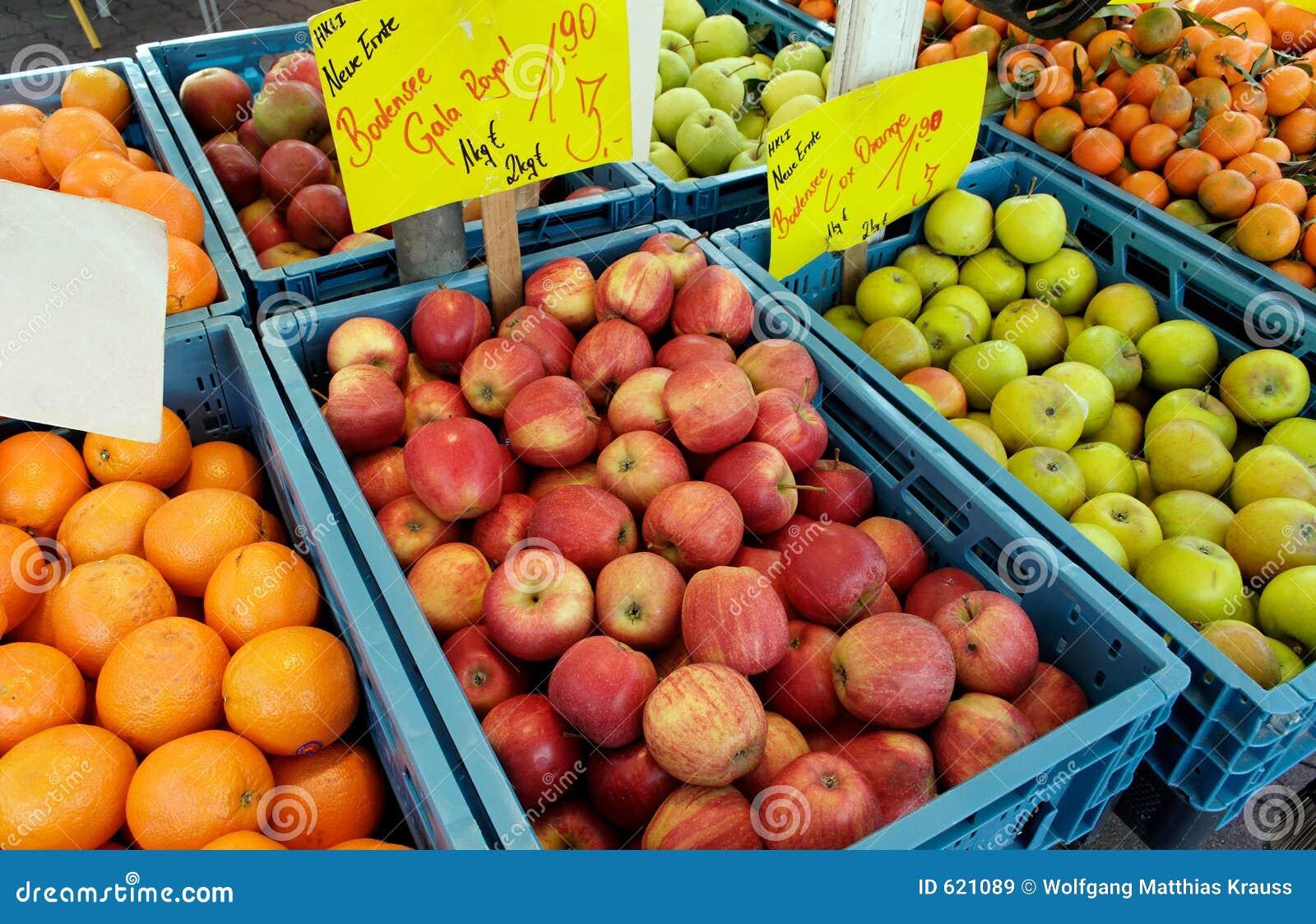 Een dag bij de markt