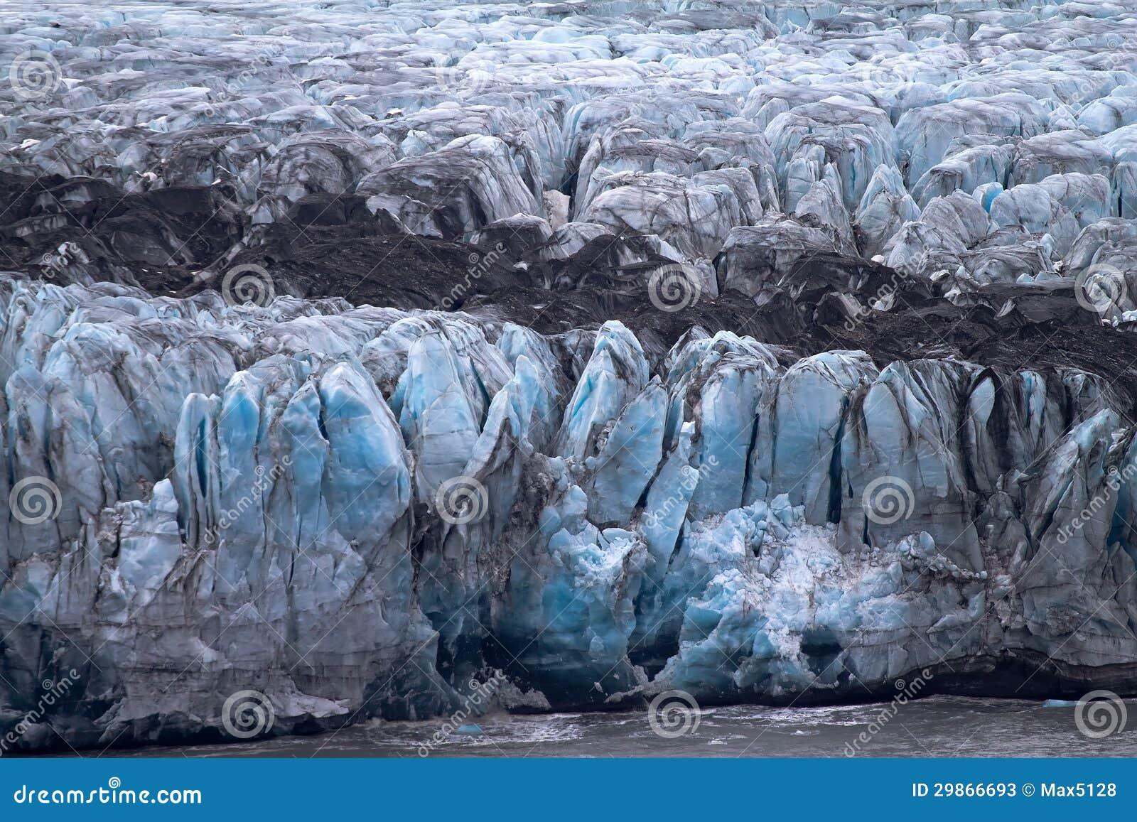 Dood van een gletsjer bij de oceaan van het ijs stock afbeelding afbeelding 29866693 - Fotos van levende ...