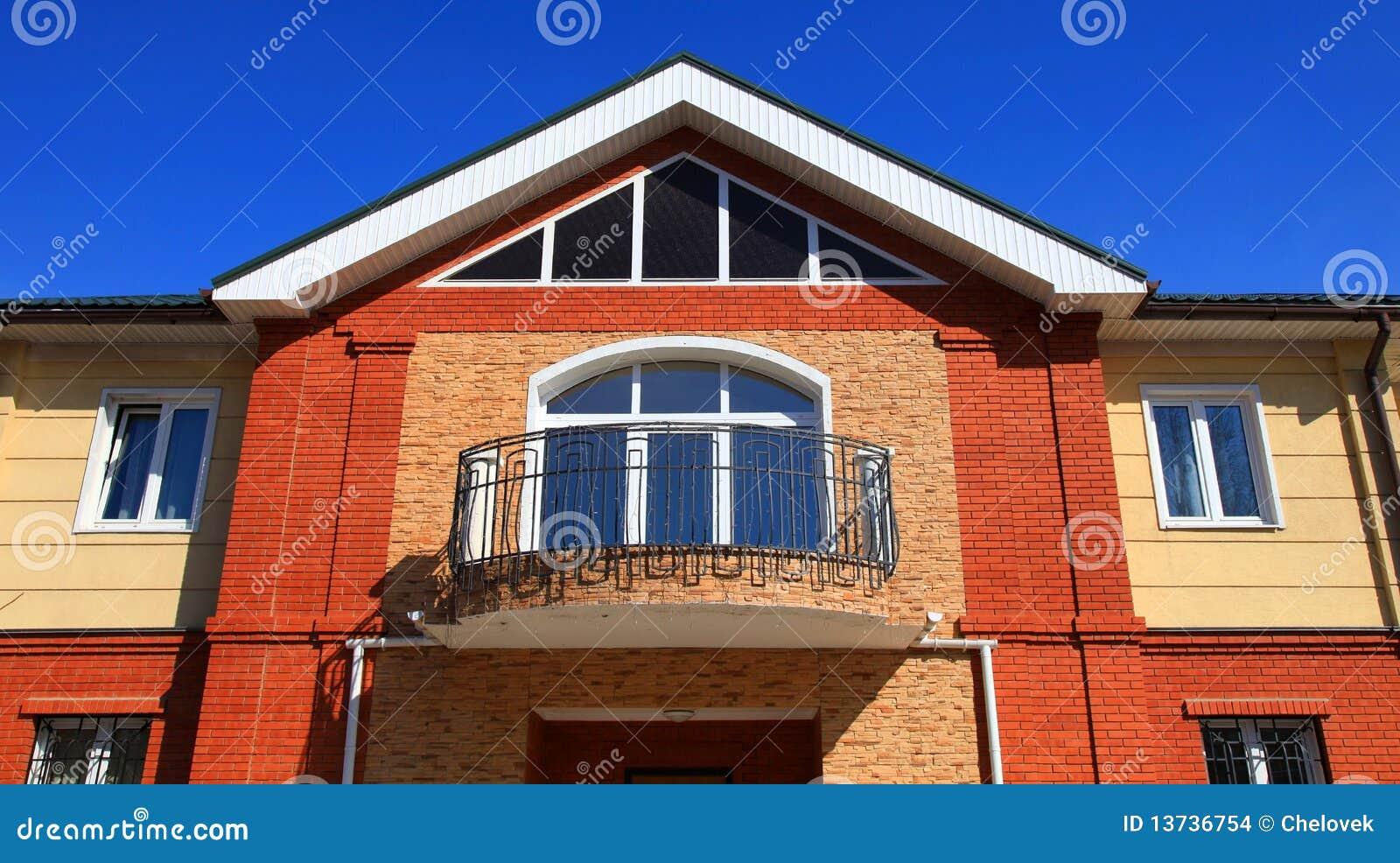Een deel van een huis stock foto afbeelding bestaande uit beeld 13736754 - Beeld van eigentijds huis ...