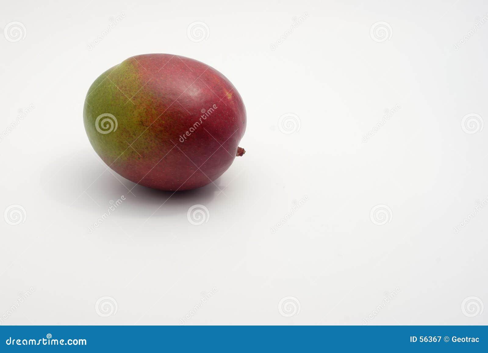 Een eenzame mango