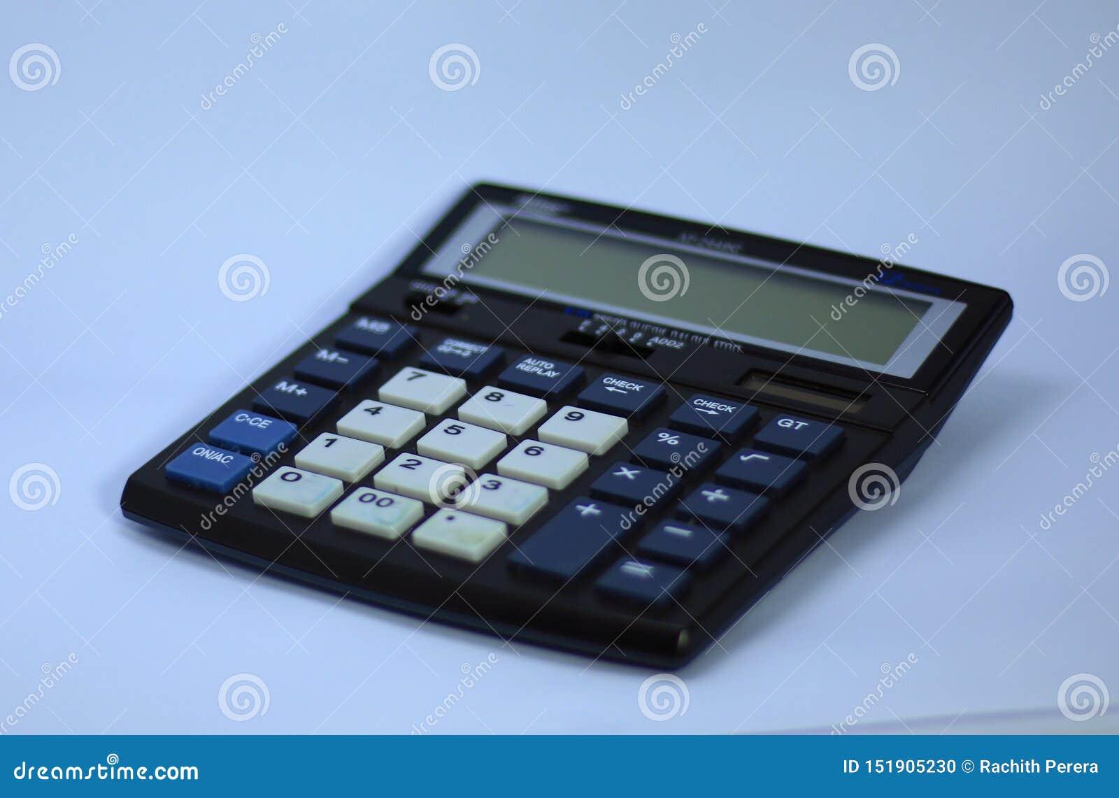 Een elektronische digitale calculator