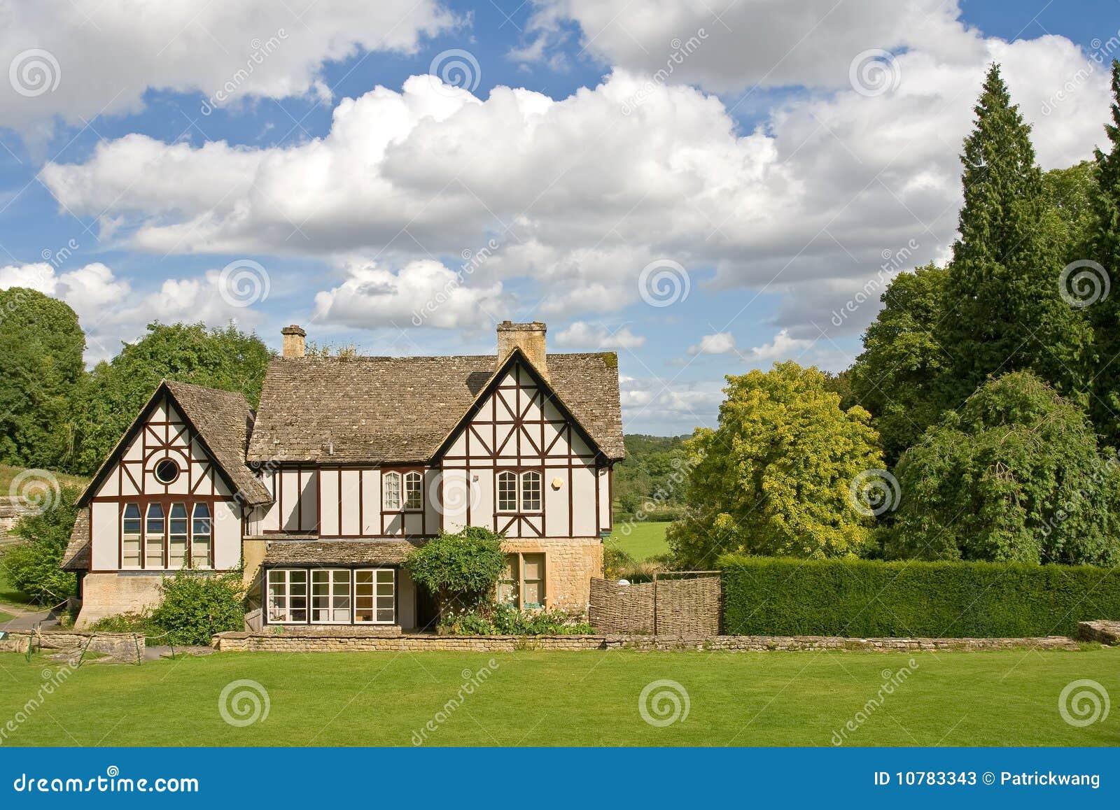 Een Engels huis van de Tuin