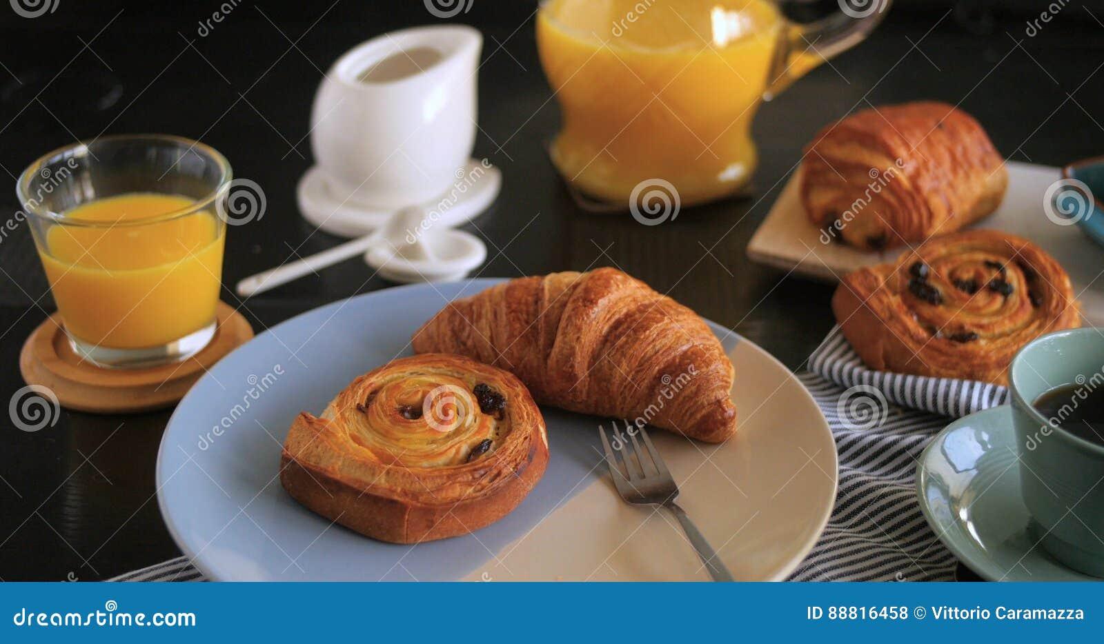Een Frans ontbijt