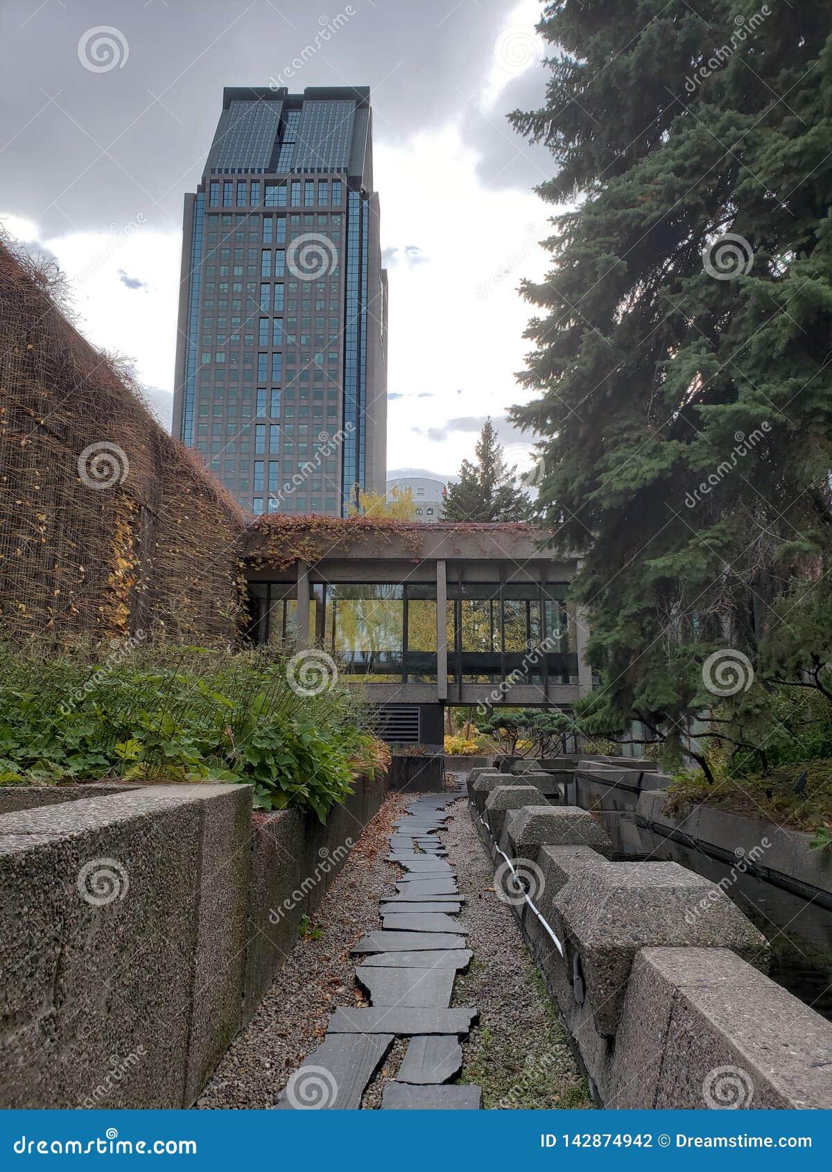 Een geheime tuin in Montreal