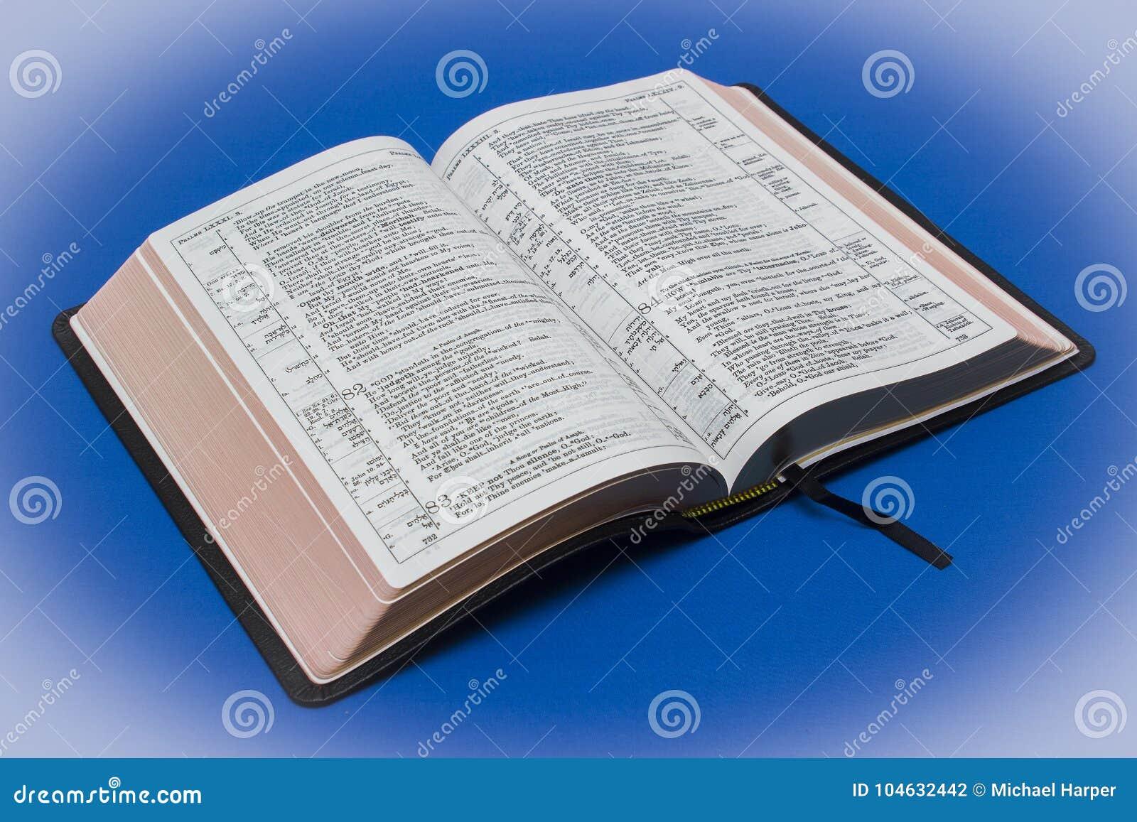 Download Een Geitevelleer Bond Newberry-versie Van De Koning James Bible Redactionele Fotografie - Afbeelding bestaande uit goddelijk, bijbel: 104632442