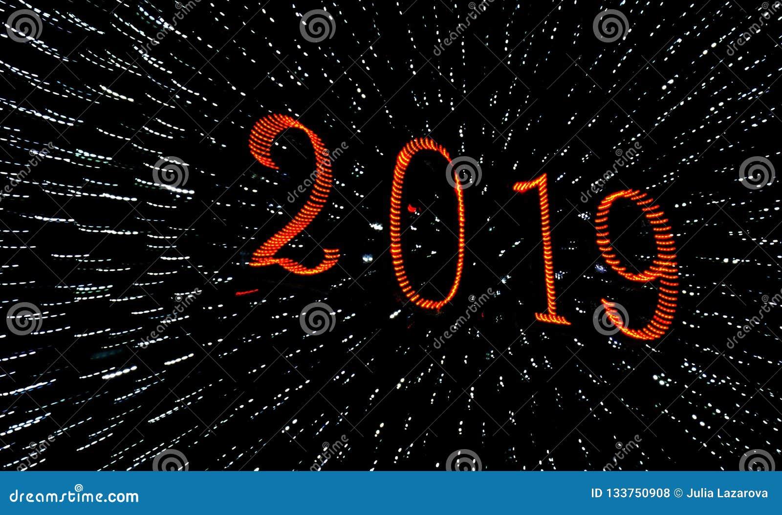 2019 een Gelukkige Nieuwjaargroeten