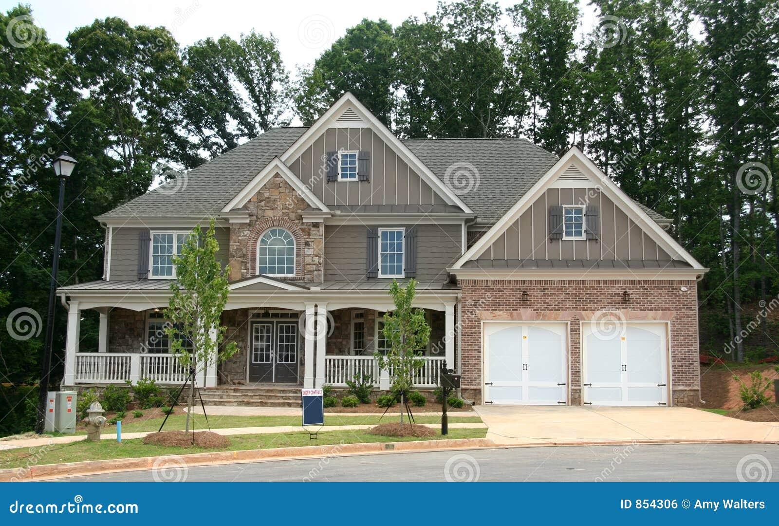 Een gloednieuw huis