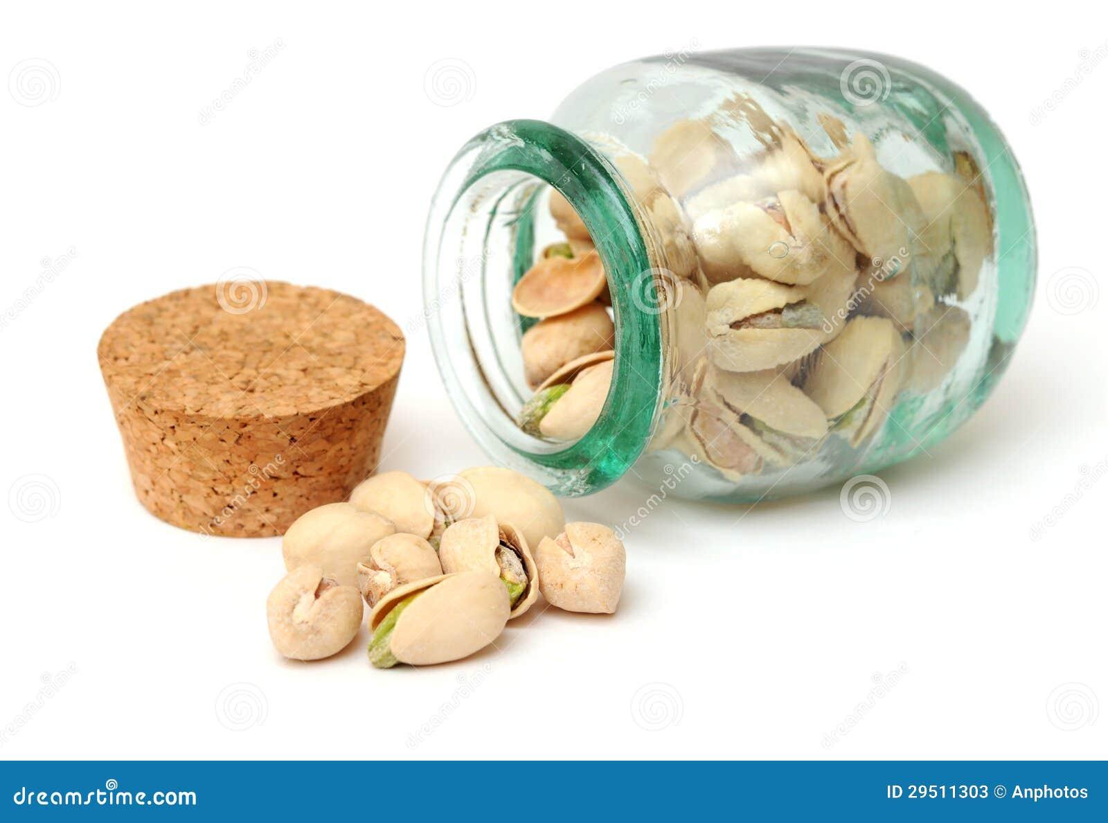 Een groep pistache