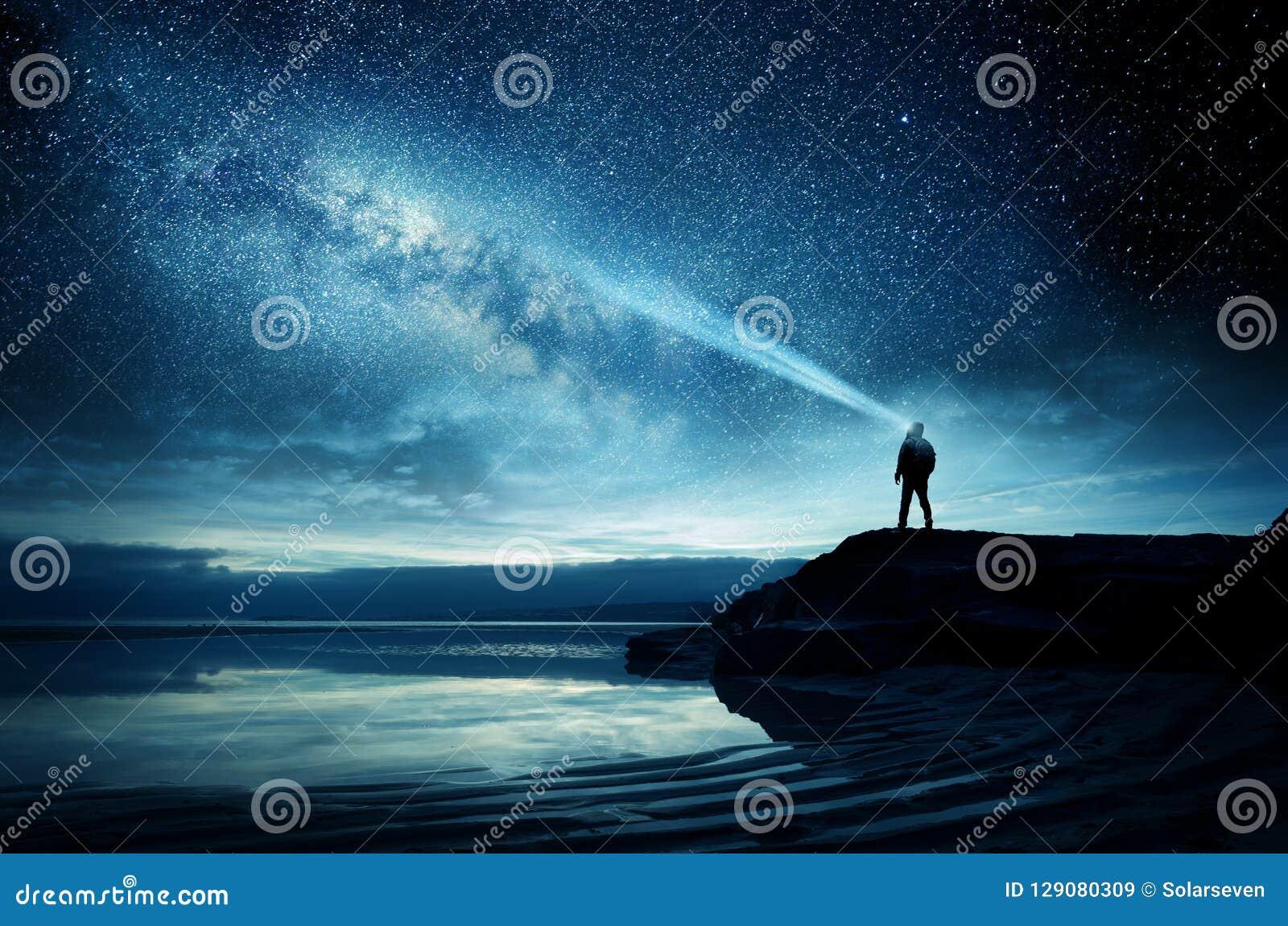 Een Hemelhoogtepunt van Licht