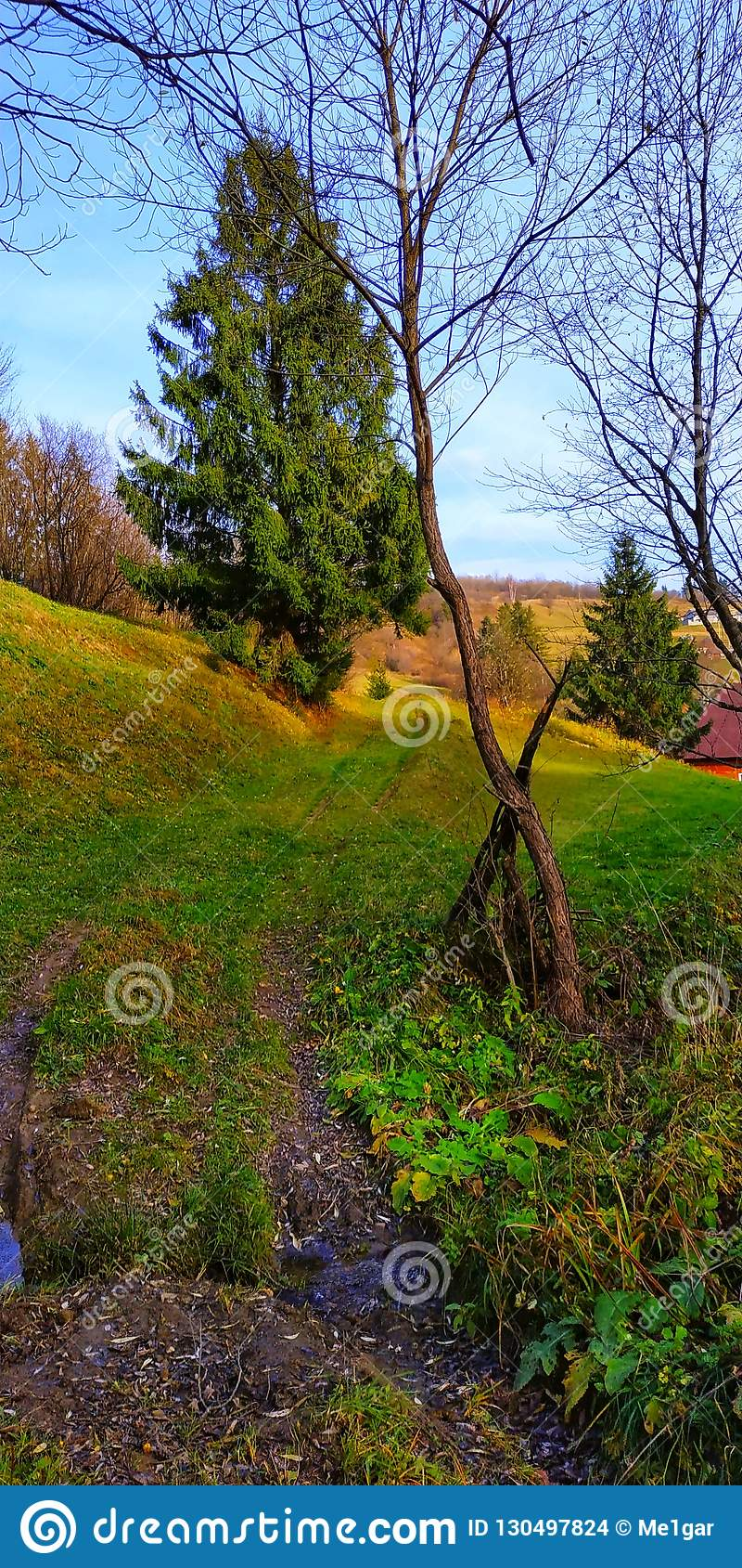 Een heuvel