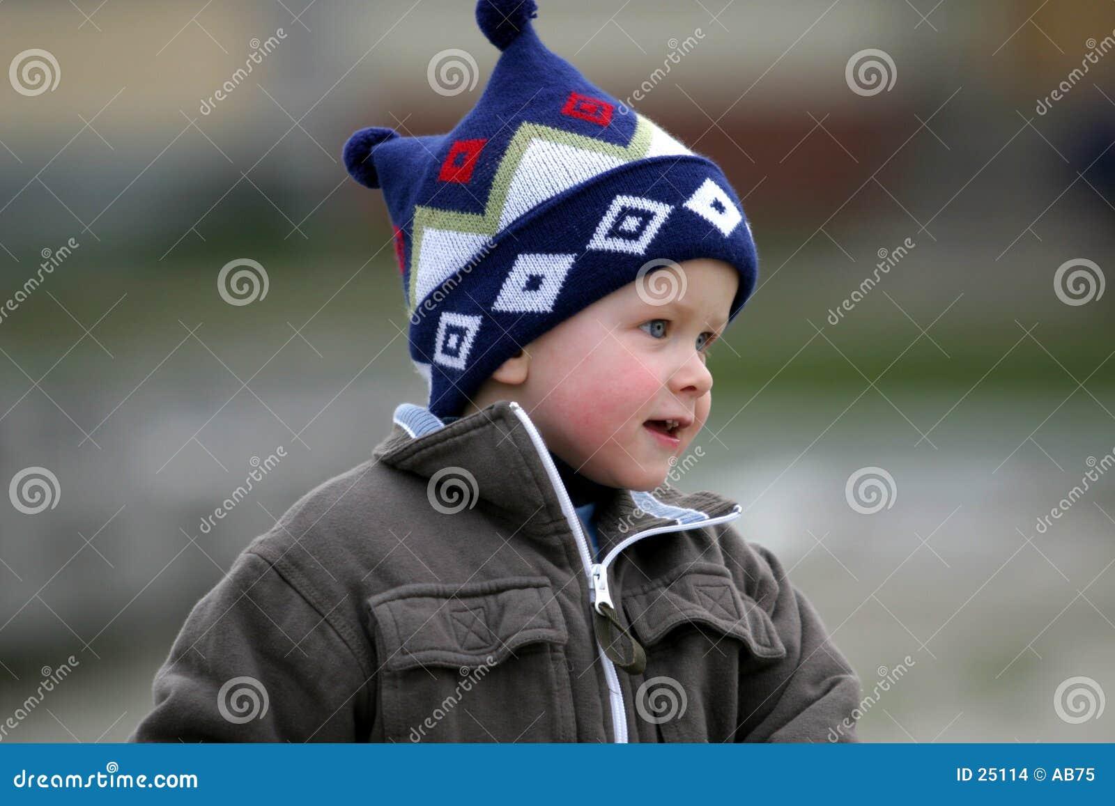 Een jongen