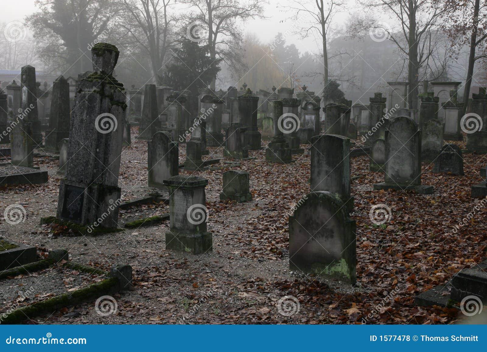 Een kerkhof