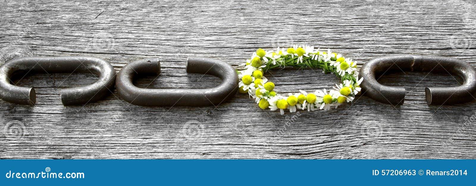 Een ketting is slechts sterk zo zoals zijn zwakste link