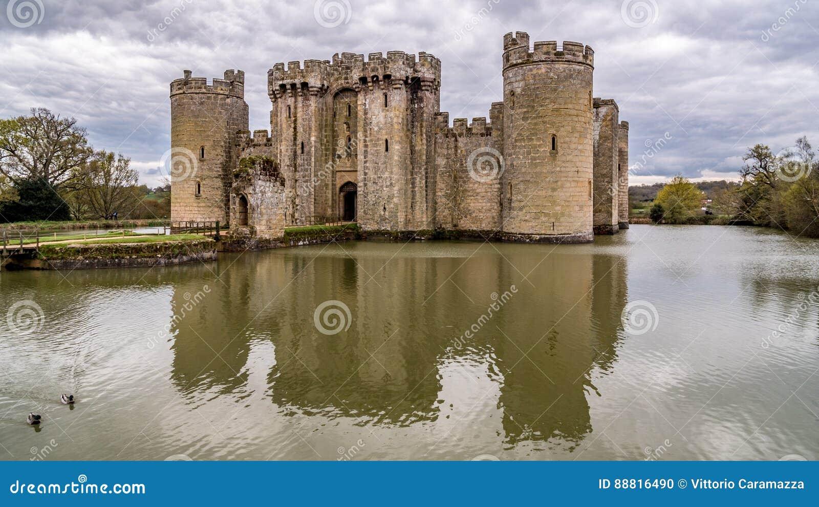 Een middeleeuws kasteel in Engeland