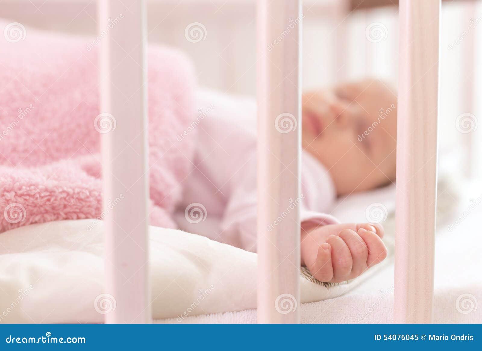 Een mooie pasgeboren slaap